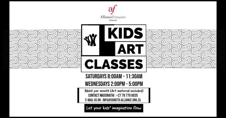 ART CLASSES WEBSITE